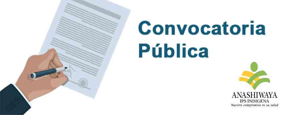 Proceso de Convocatoria Pública No. 002 DE 2021